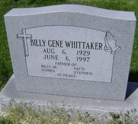 WHITTAKER, BILLY GENE - Lawrence County, Arkansas | BILLY GENE WHITTAKER - Arkansas Gravestone Photos