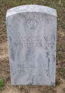WHITTAKER, CANNIE M. - Lawrence County, Arkansas | CANNIE M. WHITTAKER - Arkansas Gravestone Photos