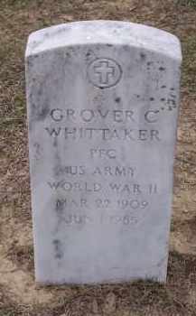 WHITTAKER (VETERAN WWII), GROVER C. - Lawrence County, Arkansas | GROVER C. WHITTAKER (VETERAN WWII) - Arkansas Gravestone Photos