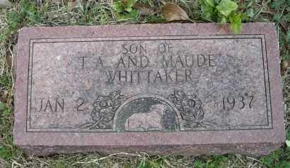 WHITTAKER, INFANT SON - Lawrence County, Arkansas | INFANT SON WHITTAKER - Arkansas Gravestone Photos