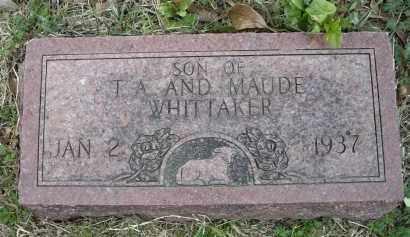 WHITTAKER, INFANT SON - Lawrence County, Arkansas | INFANT SON WHITTAKER - Arkansas Gravestone Photos