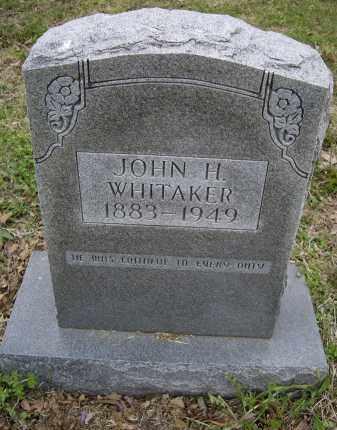WHITTAKER, JOHN H. - Lawrence County, Arkansas | JOHN H. WHITTAKER - Arkansas Gravestone Photos