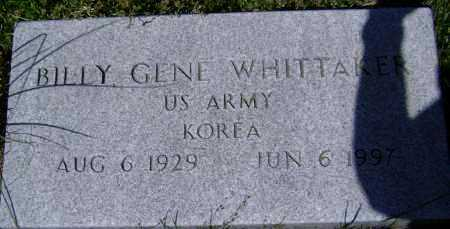 WHITTAKER (VETERAN KOR), BILLY GENE - Lawrence County, Arkansas | BILLY GENE WHITTAKER (VETERAN KOR) - Arkansas Gravestone Photos