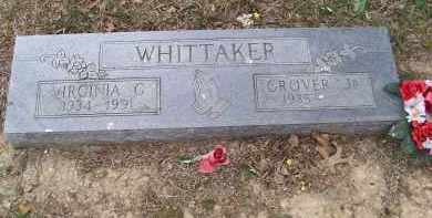 WHITTAKER, VIRGINIA G. - Lawrence County, Arkansas | VIRGINIA G. WHITTAKER - Arkansas Gravestone Photos