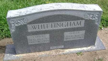WHITTINGHAM, GEORGE TOLLIE - Lawrence County, Arkansas | GEORGE TOLLIE WHITTINGHAM - Arkansas Gravestone Photos
