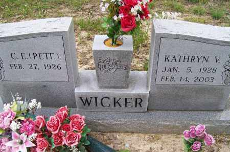 TRUXLER WICKER, KATHRYN VERNILLE - Lawrence County, Arkansas | KATHRYN VERNILLE TRUXLER WICKER - Arkansas Gravestone Photos