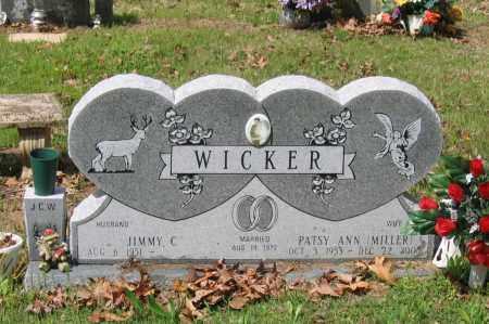 MILLER WICKER, PATSY ANN - Lawrence County, Arkansas   PATSY ANN MILLER WICKER - Arkansas Gravestone Photos