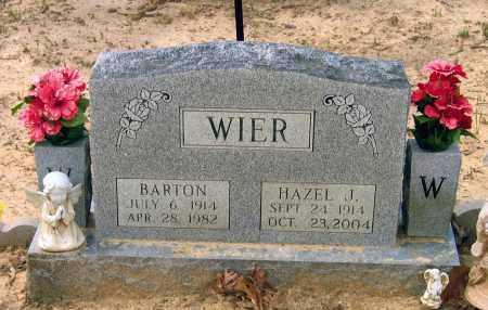 WIER, WALTER BARTON - Lawrence County, Arkansas | WALTER BARTON WIER - Arkansas Gravestone Photos