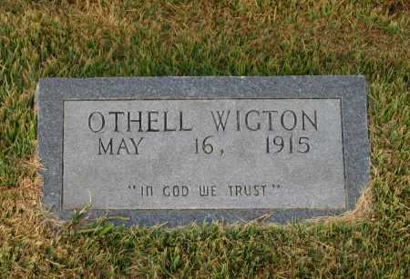WIGTON, OTHELL MABELL - Lawrence County, Arkansas   OTHELL MABELL WIGTON - Arkansas Gravestone Photos