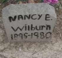 WILBURN, NANCY E. - Lawrence County, Arkansas   NANCY E. WILBURN - Arkansas Gravestone Photos