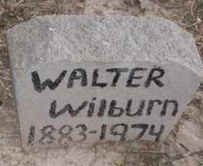 WILBURN, WALTER - Lawrence County, Arkansas | WALTER WILBURN - Arkansas Gravestone Photos