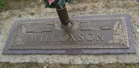 WILCOXSON, RUBY WANDALEE - Lawrence County, Arkansas | RUBY WANDALEE WILCOXSON - Arkansas Gravestone Photos