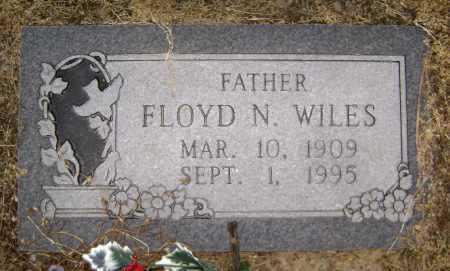 WILES, FLOYD N - Lawrence County, Arkansas   FLOYD N WILES - Arkansas Gravestone Photos
