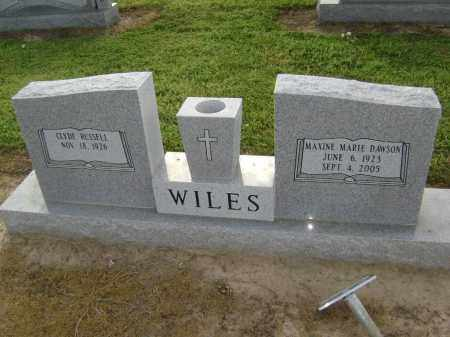 WILES, MAXINE MARIE - Lawrence County, Arkansas | MAXINE MARIE WILES - Arkansas Gravestone Photos