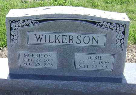 TAYLOR WILKERSON, JOSIE MAY - Lawrence County, Arkansas | JOSIE MAY TAYLOR WILKERSON - Arkansas Gravestone Photos