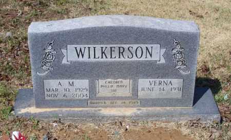 WILKERSON, ARTHUR M. - Lawrence County, Arkansas   ARTHUR M. WILKERSON - Arkansas Gravestone Photos