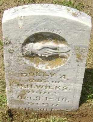 WILKS, DOLLY A. - Lawrence County, Arkansas | DOLLY A. WILKS - Arkansas Gravestone Photos