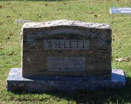 WILLETT, ARRIE EDNA - Lawrence County, Arkansas | ARRIE EDNA WILLETT - Arkansas Gravestone Photos