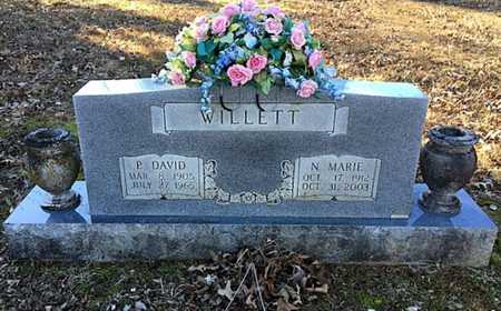 MCLAUGHLIN WILLETT, NELLIE MARIE - Lawrence County, Arkansas | NELLIE MARIE MCLAUGHLIN WILLETT - Arkansas Gravestone Photos