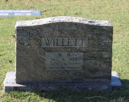 """WILLETT, WILLIAM HENRY """"W. H."""" - Lawrence County, Arkansas   WILLIAM HENRY """"W. H."""" WILLETT - Arkansas Gravestone Photos"""