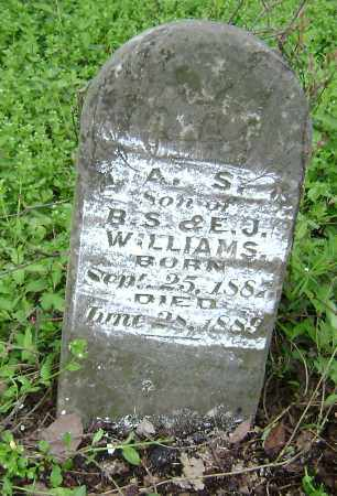 WILLIAMS, A. S. - Lawrence County, Arkansas | A. S. WILLIAMS - Arkansas Gravestone Photos