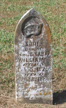 WILLIAMS, ADDI - Lawrence County, Arkansas | ADDI WILLIAMS - Arkansas Gravestone Photos