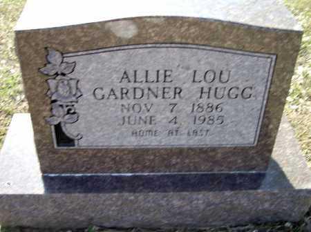 HUGG, ALLIE LOU GARDNER WILLIAMS - Lawrence County, Arkansas | ALLIE LOU GARDNER WILLIAMS HUGG - Arkansas Gravestone Photos