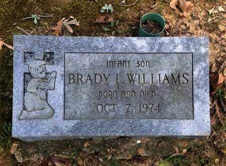 WILLIAMS, BRADY L. - Lawrence County, Arkansas   BRADY L. WILLIAMS - Arkansas Gravestone Photos