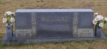 HARRISON WILLIAMS, GERTIE JANE - Lawrence County, Arkansas | GERTIE JANE HARRISON WILLIAMS - Arkansas Gravestone Photos