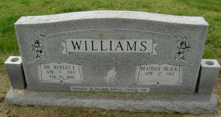 WILLIAMS, HUBERT ETHRIDGE - Lawrence County, Arkansas | HUBERT ETHRIDGE WILLIAMS - Arkansas Gravestone Photos
