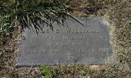 WILLIAMS (VETERAN WWI), JOE BOB - Lawrence County, Arkansas | JOE BOB WILLIAMS (VETERAN WWI) - Arkansas Gravestone Photos