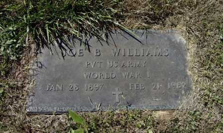 WILLIAMS (VETERAN WWI), JOE BOB - Lawrence County, Arkansas | JOE BOB WILLIAMS (VETERAN WWI) - Arkansas Gravestone Photos