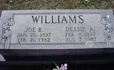 "HUBBARD WILLIAMS, ODESSA AZALEE ""DESSIE"" - Lawrence County, Arkansas | ODESSA AZALEE ""DESSIE"" HUBBARD WILLIAMS - Arkansas Gravestone Photos"
