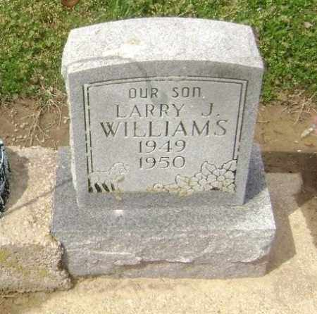WILLIAMS, LARRY J. - Lawrence County, Arkansas | LARRY J. WILLIAMS - Arkansas Gravestone Photos