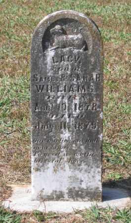 WILLIAMS, LACY - Lawrence County, Arkansas | LACY WILLIAMS - Arkansas Gravestone Photos