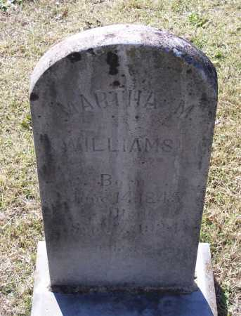 WILLETT WILLIAMS, MARTHA M. - Lawrence County, Arkansas | MARTHA M. WILLETT WILLIAMS - Arkansas Gravestone Photos