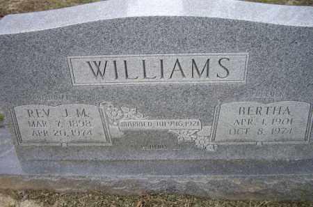 WILLIAMS, BERTHA - Lawrence County, Arkansas | BERTHA WILLIAMS - Arkansas Gravestone Photos