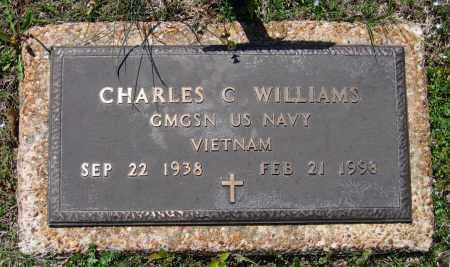 WILLIAMS (VETERAN VIET), CHARLES C - Lawrence County, Arkansas   CHARLES C WILLIAMS (VETERAN VIET) - Arkansas Gravestone Photos