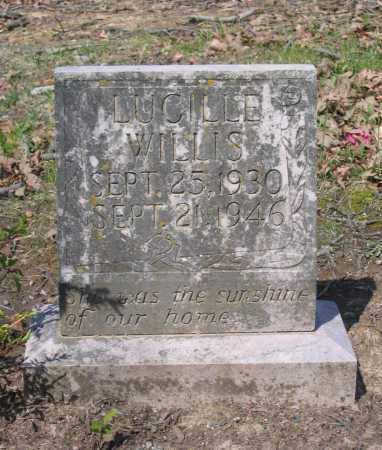 WILLIS, LUCILLE - Lawrence County, Arkansas   LUCILLE WILLIS - Arkansas Gravestone Photos