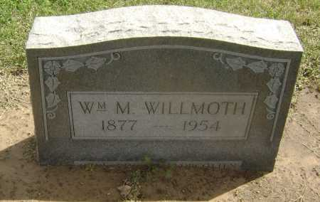 WILLMOTH, WILLIAM M. - Lawrence County, Arkansas | WILLIAM M. WILLMOTH - Arkansas Gravestone Photos