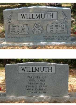 SMITH WILLMUTH, EVA REBECCA - Lawrence County, Arkansas | EVA REBECCA SMITH WILLMUTH - Arkansas Gravestone Photos