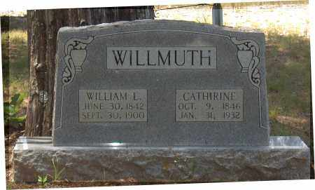 WILLMUTH, CATHERINE - Lawrence County, Arkansas | CATHERINE WILLMUTH - Arkansas Gravestone Photos