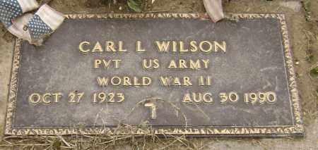 "WILSON  (VETERAN WWII), CARL LAVERN ""SON"" - Lawrence County, Arkansas   CARL LAVERN ""SON"" WILSON  (VETERAN WWII) - Arkansas Gravestone Photos"