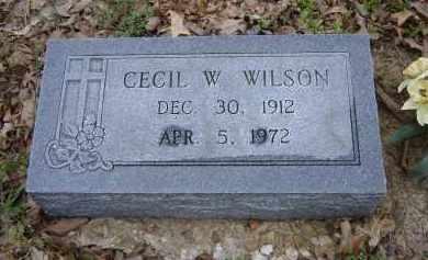 WILSON, CECIL W. - Lawrence County, Arkansas | CECIL W. WILSON - Arkansas Gravestone Photos