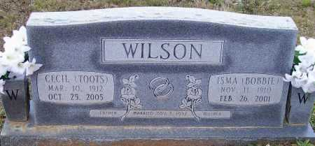 """WILSON, CECIL """"TOOTS"""" - Lawrence County, Arkansas 