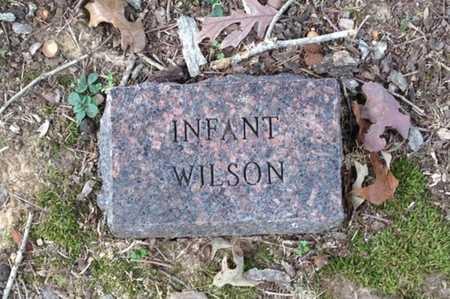WILSON, INFANT SON - Lawrence County, Arkansas   INFANT SON WILSON - Arkansas Gravestone Photos