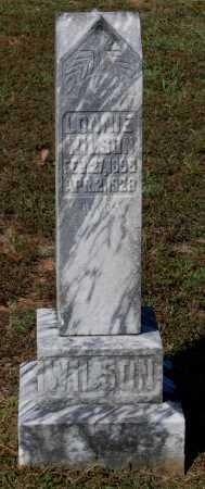 """WILSON, ALEX ALONZO """"LONNIE"""" - Lawrence County, Arkansas   ALEX ALONZO """"LONNIE"""" WILSON - Arkansas Gravestone Photos"""