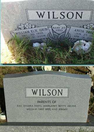 WILSON, ANITA PAULINE - Lawrence County, Arkansas | ANITA PAULINE WILSON - Arkansas Gravestone Photos