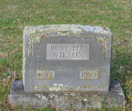 WILSON, RUBY LEE - Lawrence County, Arkansas | RUBY LEE WILSON - Arkansas Gravestone Photos