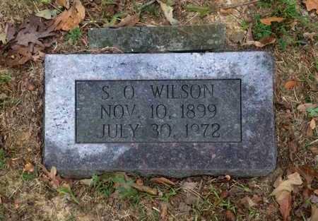 "WILSON, SAMPSON OSCO ""S. O."" - Lawrence County, Arkansas | SAMPSON OSCO ""S. O."" WILSON - Arkansas Gravestone Photos"